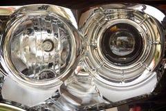 Koplampen van een Auto Royalty-vrije Stock Fotografie