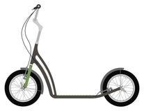 Kopnięcie roweru hulajnoga Fotografia Royalty Free