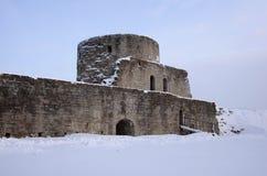 Koporie fästning Arkivbilder