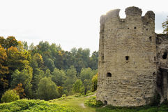 Koporie fortress - old ruined place in Russia, near Saint - Petersburg. Koporie fortress - old ruined place in Russia, near north - west from Saint - Petersburg Royalty Free Stock Photos
