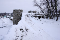 Koporie fortress Stock Images