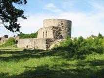 Koporje - 15世纪的一个古老堡垒在北部o的 免版税库存图片