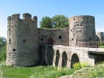 Koporje - eine alte Festung des 15. Jahrhunderts im Nordo Lizenzfreie Stockbilder