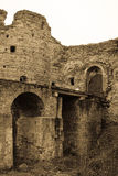 Koporskaya堡垒古色古香称呼 免版税库存图片