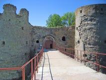 Koporye fortress Royalty Free Stock Image