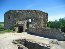 Koporye fortress Stock Photo