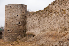Koporye Fortress in historic village. Russia Royalty Free Stock Photos