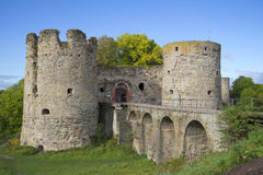 Koporye fortress september sunny day. Leningrad region Royalty Free Stock Photo