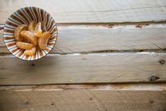 Kopp av apelsinen Arkivfoton