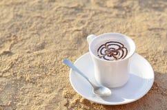Kopp av cappuccino Royaltyfri Bild