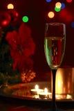 Kopp av champagne Arkivfoton