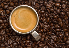 Kopp av espresso Arkivbilder