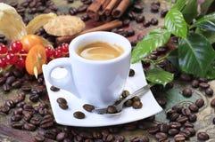 Kopp av espresso Arkivfoton