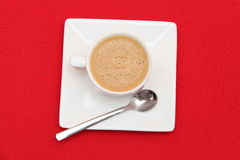 Kopp av kaffe arkivbild