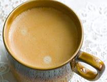 Kopp av kaffe. Fotografering för Bildbyråer