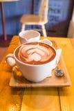 Kopp av kakao Arkivbild