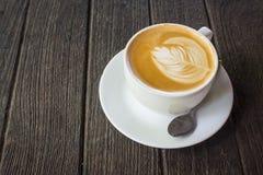 Kopp av latte Royaltyfria Bilder