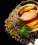 Kopp av tea Royaltyfri Fotografi