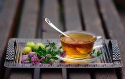 Kopp av tea arkivbilder