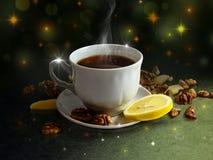 Kopp av tea Arkivbild