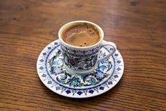 Kopp av turkiska Coffe Fotografering för Bildbyråer
