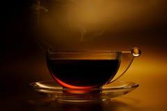 Kopp av varm tea Arkivfoto