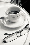 Kopp av varmt kaffe Arkivbilder