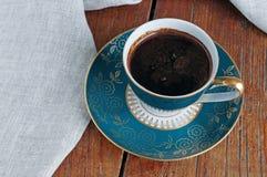 Kopp för kaffe för tappningporslinTjeckien Royaltyfria Foton