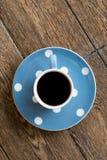 kopp för svart kaffe Arkivfoton