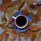 kopp för svart kaffe Royaltyfri Bild