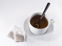 Kopp för svart te Royaltyfri Bild