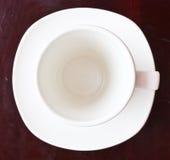 Kopp för vitt kaffe Royaltyfria Foton