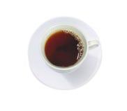 kopp isolerad teawhite royaltyfria foton