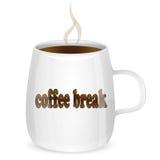 Kopp kaffe vektor illustrationer