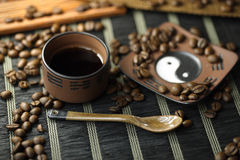 Kopp kaffe Arkivbilder