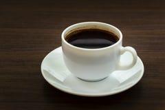 Kopp kaffe endast Arkivbild