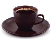 Kopp kaffe. Vektorillustration Arkivfoto