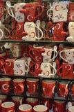 Kopp med symboler av Turkiet Royaltyfri Fotografi