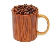 Kopp och kaffe Arkivbilder