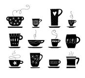 Kopp te eller coffe Royaltyfri Bild