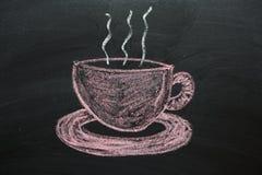 Kopp te eller kaffe Fotografering för Bildbyråer