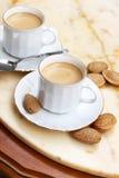 Koppar av kaffe Arkivbild