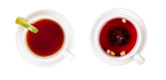 Koppar av tea Arkivbild
