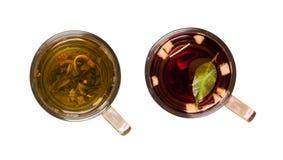 Koppar av tea Royaltyfri Fotografi