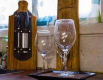 Koppar av vin arkivbilder