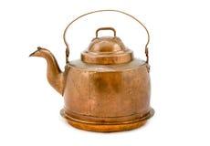 koppar isolerad kettle arkivbilder