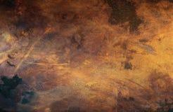 koppargammal textur Arkivfoton