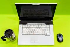 koppbärbar datormus Arkivfoton