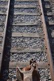 Koppeling en sporen Stock Afbeeldingen