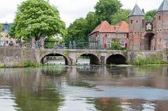 Koppelpoort à Amersfoort Image stock